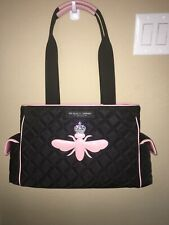 Nwot Mfil My Flat In London Quilted Queen Bee Diaper Bag