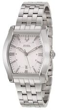 Swiss Made Bulova Accutron 63B158 Stratford Tonneau Stainless Steel Men's Watch