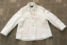 Isabel Marant Womens Veste Etta Short Jacket Ecru Size 36 Wool Linen VE0604
