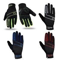 WFX Cycling Gloves Full Finger Winter Windproof Waterproof Touchscreen Gel Palm
