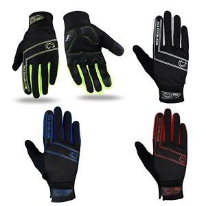 WFX Cycling Gloves Full Finger Winter Windproof Waterproof Touchscreen Gel Palm