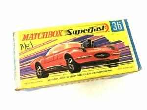Matchbox Superfast New 36 Draguar Vintage in original Box