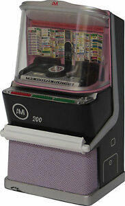 JUKEBOX MINIATURE COLLECTIBLE REPLICA AMI H-200 (1957) LIGHTS AND PLAYS