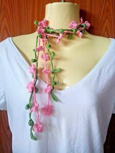 Crochet Hairband Cute Accessories Belt Scarf Women Teen Girl