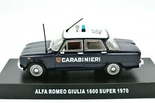 Model Car Alfa Romeo Giulia Carabinieri Scale 1/43 modellcar RC Model