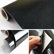 3High Gloss Glittery Black Contact Paper Vinyl 24-Inches by78.7-Inches