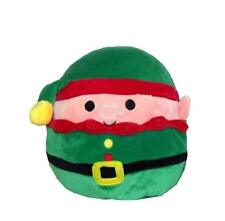 squishmallows plush Christmas elf with clip 3.5
