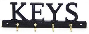 Small Simple  Keys Key Rack Holder Hanger Entryway Organization Wall Mount Hooks