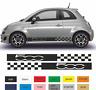 Fiat 500 - Autocollant - Bandes Stickers adhésifs décoration - couleur au choix