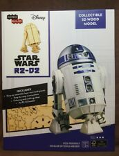 Star Wars R2-D2 Collectible 3D Wood Model ~Loot Crate Sept. 2017~ Incredi-Builds