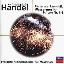 Händel Feuerwerksmusik/Wassermusik-Suiten 1-3 (Decca, 1967-82) [CD]