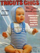Revue de mode Catalogue de tricot - Tricots Chics n°229 - Enfants - 1982