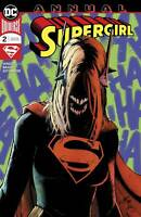 Supergirl Annual #2 (DC 2019) Glapion Bogdanovic Cover