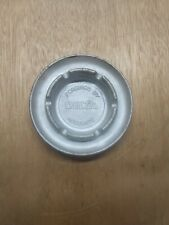 Vtg Ashtray, Accurate Forgings By Delta, Round Metal Collectible Tobacciana Usa