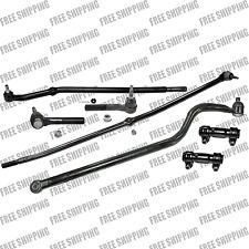 Front Ends Steering Kit Drag Link Track Bar For 00-02 Dodge Ram 3500 4WD-2WD