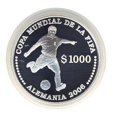 URUGUAY - 1000 Pesos 2003 - FUSSBALL-WM 2006 - Spieler - SILBER - ANSEHEN