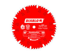 Freud D1050X Diablo 10-Inch 50-tooth ATB Combination Saw Blade with 5/8-I... New