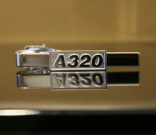 Tiebar Airbus A320 SILVER for Pilots Crew Maintenance metal tie clip clasp