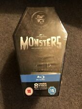 Universal Monsters Collection Coffin Box Bluray Region Free Perfect 4 Halloween
