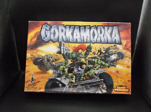 Gorkamorka - Grundbox unvollständig ohne Minis Ersatzteil + Wüstenwhülaz Teile