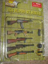1/6th WW2 Axis Weapon Set 3, Soumi, Beretta, ZK 383 SMG, VG 1-5 Assault Rifle