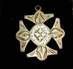 Irish Albert Chain Fob Reg Albo Silver NCR Co Inscribed Maria Moore 1900