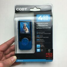 Coby MP620 Blue (4 GB) Digital Media Player Brand New