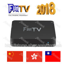 2018 最新電視盒 FUNTV TV Box Unblock Chinese HK/China Adult Channel 4K IPTV 中港台