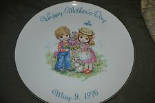 Commemorative Edition Mother's Day Plate from 1976