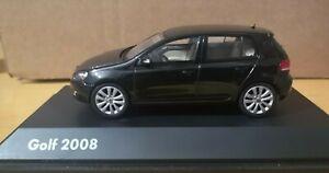 Minichamps 1:43 BLACK Volkswagen GOLF VI