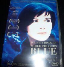 THREE COLOURS BLUE - JULIETTE BINOCHE (Australia Region 4) DVD – Like New