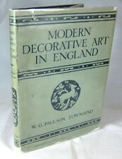 Modern Decorative Art in England. Its Development & Characteristics, 1922