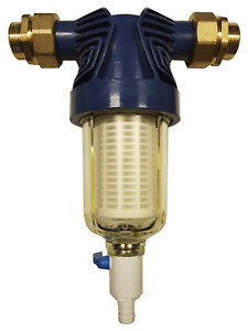 "Hauswasserfilter 1"" bzw. 1 1/4"", Wasserfilter, spülbar"