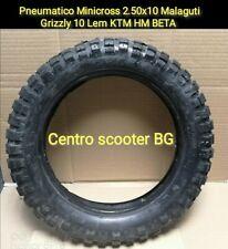Pneumatico Gomma  Minicross 2.50x10 Malaguti Grizzly 10 Lem KTM HM BETA