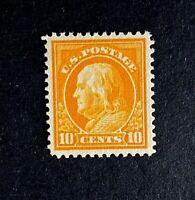 US Stamp, Scott #416 10c Franklin 2019 PSAG Cert - GC XF 90 M/NH Beautiful