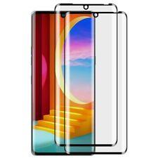 2x For LG Velvet 5G 3D Curved Edge Tempered Glass Film Screen Protector 2 Pack