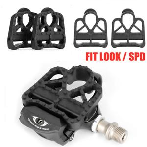 PROMEND 2pcs Clipless Platform Universal Pedal Adapters for Shimano SPD KE0 Look