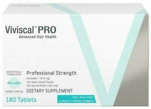 Get 10 days supply, 20 tablets for FREE  - Viviscal PRO Hair Growth 180 Tablets