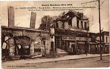 CPA  Guerre Mondiale 1914-1918 -Saint-Quentin - Rue de la Fére-Maison..(202318)