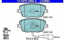 ATE Juego de 4 pastillas freno trasero para SEAT IBIZA VW POLO 13.0470-2884.2
