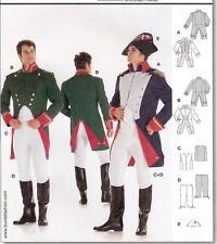 PATTERN for Historical Napoleon costume Burda 2471 sz 36-48 French Jean Valjean