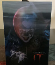 NECA - IT Pennywise - I Love Derry - 7inch Figure New - Lenticular cover art