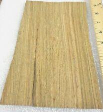 "Cereijera wood veneer 5"" x 9"" raw no backing 1/32"" thickness ""A"" grade quality"