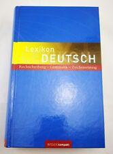LEXIKON DEUTSCH - Rechtschreibung -Grammatik -Zeichensetzung - neuw.