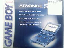 NEW, FACTORY SEALED and very RARE!  Nintendo Game Boy Advance SP Cobalt Blue