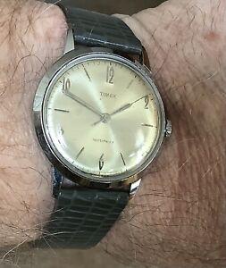 Vintage Timex Mens Watch - Shock Proof - Water Proof & Dust Proof