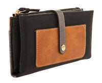 Desigual Damen Geldbörse Portemonnaie Brieftasche schwarz braun NEU 18WAYP089003