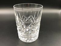 """Cut Crystal Heavy Double Old Fashioned, 4 1/2"""" Tall, 3 1/2"""" Diameter"""