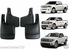 4pc Molded Mud Flap Splash Guards For 2004-2014 Ford F-150 New Free Shipping