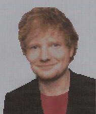 Ed Sheeran  Counted Cross Stitch Kit